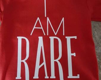 I Am Rare- Hemophilia Shirt- Hemophilia Onesie- Hemophilia Awareness- Hemo Hero- Hemo life