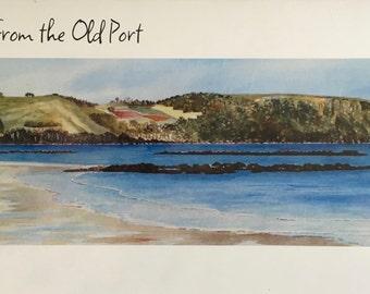 Table Cape, Wynyard Tasmania Watercolour print gift card