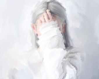 """Portrait """"Hiding project"""""""