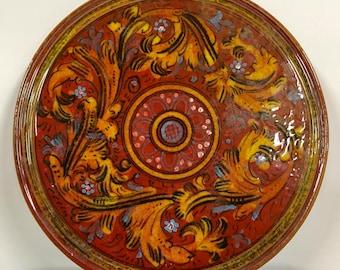 Italian Hot Plate or Wall Decor