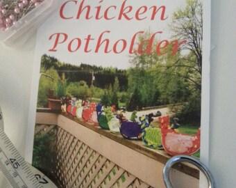 Chicken Potholder Paper Pattern