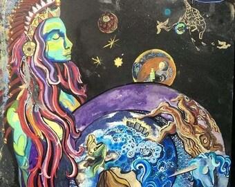 Indian Goddess PRINT