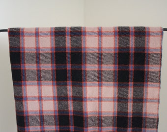 Genuine Tartan Vintage Wool Throw Blanket