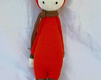 Fibi the Fox Lalylala Crochet Doll