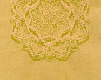 Vibration Mandala 2 Print