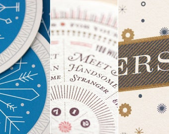 Mixed Coaster Pack – 1 Set of Each Design