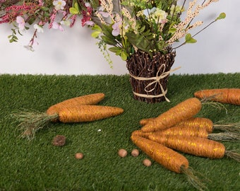 Easter carrots, Prop vegetable, fake carrot