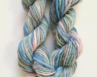 Handspun Alpaca thick and thin - laine tissage weaving yarn