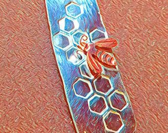Pure Silver Bee Pendant