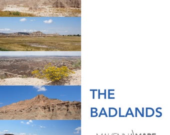 The Badlands Photo Series