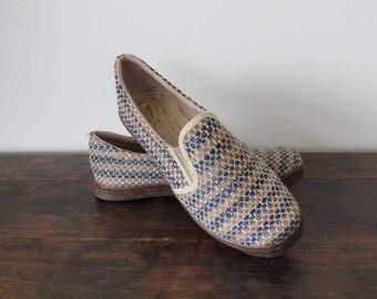 Mens Shoes Size 40, Mens Loafers, Mens Boat Shoes, Mens Slip Ons, Fique Shoes, Handmade Shoes, Vegan Shoes