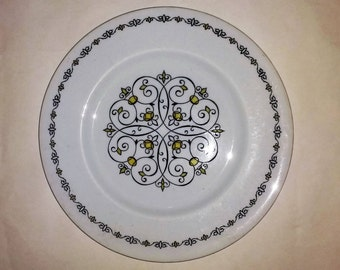 2 x Vintage Myotts Dinner Plates Seville Pattern made in Staffordshire England