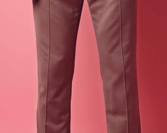 Copper rose trousers