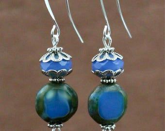 Vivid Blue Earrings