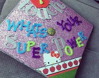 Custom graduation caps that set you apart.