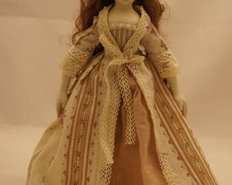 """The doll in historical styl """"Liza""""."""