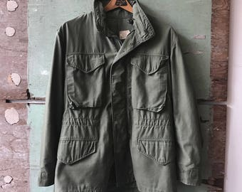 1970's Small Military Issue M-65 Jacket