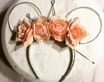Summer Love Wire Minnie Ears With Tiara
