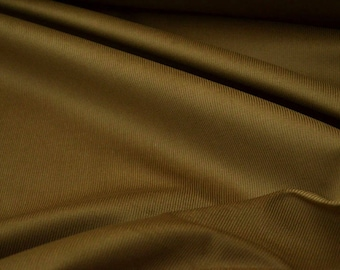 """Gold Corduroy, Solid brown cotton by the yard, Width: 59"""""""