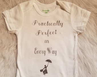 Mary Poppins Baby Shirt