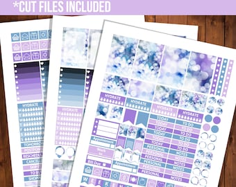 Happy planner stickers july, Weekly happy planner, Printable planner stickers, July weekly kit, July planner - STC031