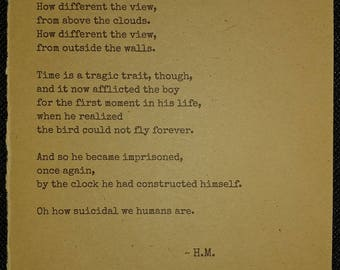 Tick Tock - Poem by H.M.