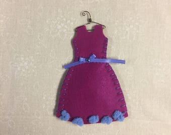 Organic Lavender Filled Sachet Dress, Pink