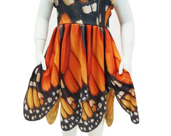 Girl's Monarch Butterfly Dress