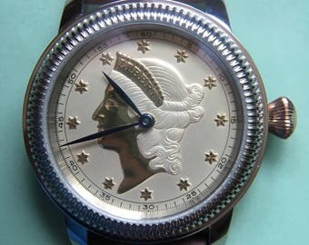 Coin Watch Vintage