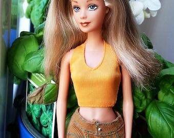 Danielle, Barbie OOAK repaint, hand painted