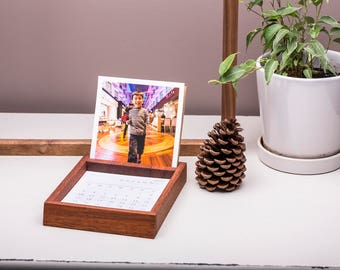 Wooden Photo Display Stand, Desk Organiser, Photo Frame, Desk Accessories, Desk Decor, Handmade, Luxury Timber, Modern, The Authentic