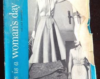 Vintage Women's Day pattern 5071 dress size 18