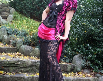 Naughty Princess Gothic Victorian Bridal Gown - Ready to Ship