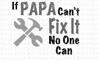 Papa svg cut file