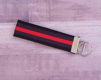 Thin Red Line Key Fob