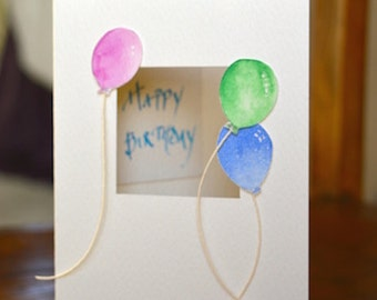 Happy Birthday! and Balloons!