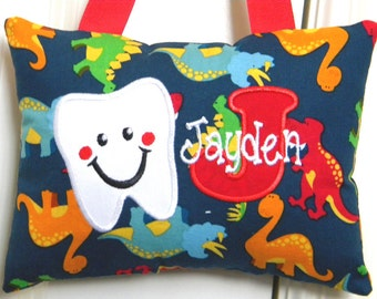 Tooth Fairy Pillow - Dinosaurs