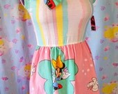 Minnie Mouse dress, fairy kei clothing sweet lolita Minnie n' Me 90s fashion Size small S