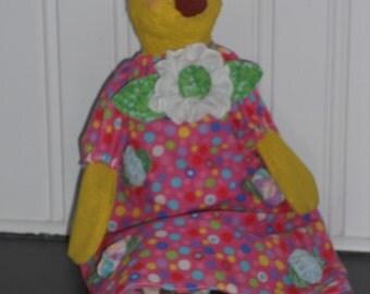 Primitive Easter Spring Chick