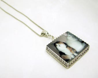 Memory Photo Pendant Necklace