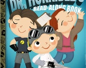 Dr. Horrible's Read-Along Book - 8x10 PRINT