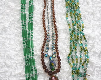 studio destash - An instant collection of vintage crystal bead pretties