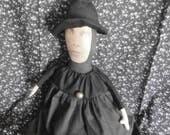Handmade Folk Art Witch Doll - Freaky Frieda **Special**