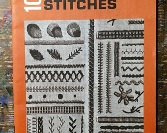 Vintage Book: 100 Embroidery Stitches