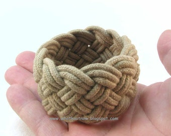 olive green rope bracelet turks head knot sailor knot bracelet braided bracelet rope jewelry nautical bracelet 3261