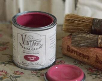 Jeanne d' Arc Living Paint Vintage Wine Red