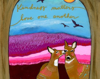 Greeting Card : Kindness Matters