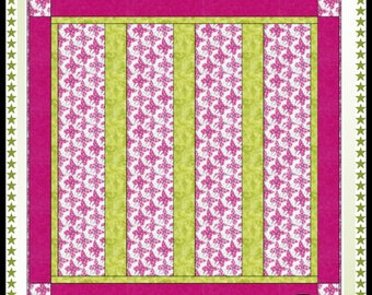Downloadable Baby's First Quilt - Quilt Pattern