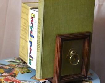 Ethan Allen Book Rack 70s Sliding Book Storage