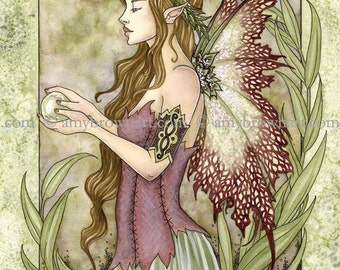 5x7 Serenity fairy PRINT by Amy Brown